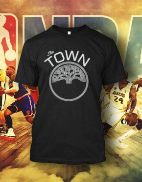 717b7af50f0e Μπλουζάκια για Λάτρεις NBA Golden State The-Town